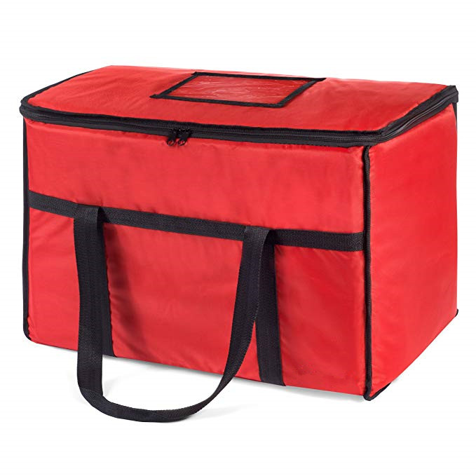 Thick Insulation Cooler Bag Food Delivery Bag Insulated Food Carrier Catering Bag
