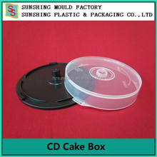 PP plastic large capacity CD/DVD cake box