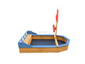 wooden Kids' sandbox boat