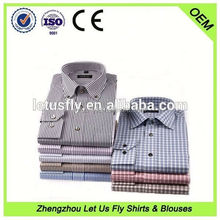 Hot selling high quality 100% cotton dress shirt polygon cufflinks OEM service