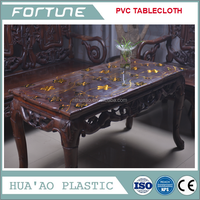 thick pvc vinyl table cover on roll