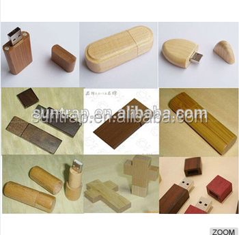 wooden usb and print box with free sample free logo print oem fcatory