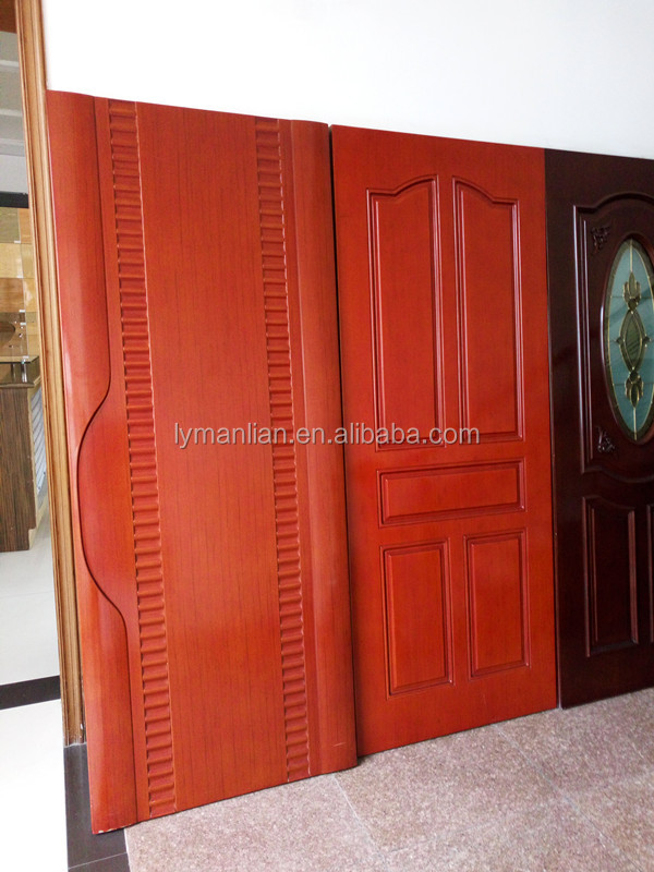 Melamine door design/decorative bathroom doors/door skin