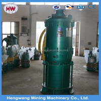 2015 high quality electric centrifugal sewage submersible pump