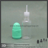10 ml clear pet e-liquid plastic eye wash bottle