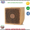 2017 wholesale natural bluetooth wood speaker factory BSW21