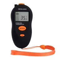 DT8260 Portable Mini Non-Contact IR Infrared LCD Digital Thermometer Temp Meter Temperature Measuring