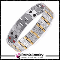 Trending Stock Power Jewelry 4 in 1 Germanium Ion FIR Magnetic Bracelet