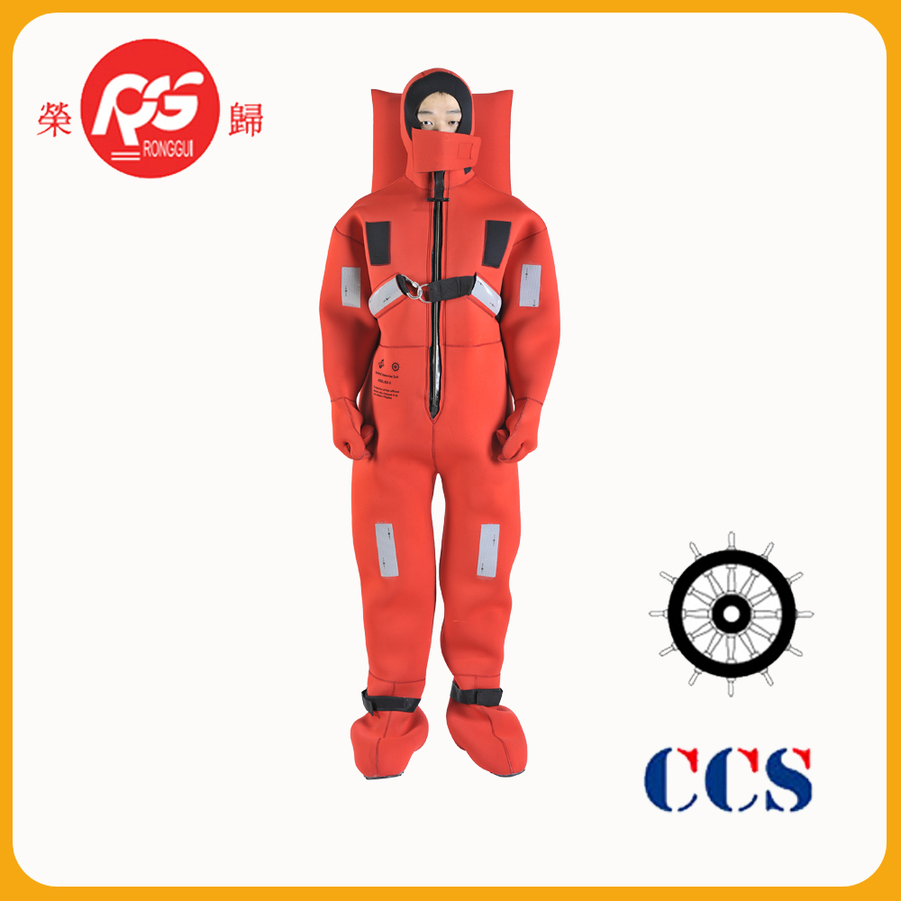 CCS MED marine Insulated Immersion Suit