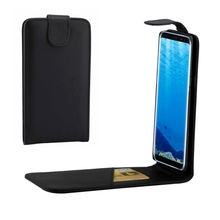 Good Quality Phone Case Vertical Flip Leather Case with Card Slot for s8& s8p