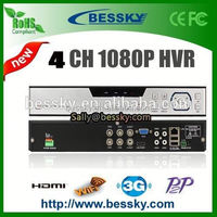 4ch analog dvr supporting onvif cloud p2p,camera diffuser,new released h.264 8ch 960h hvr dvr