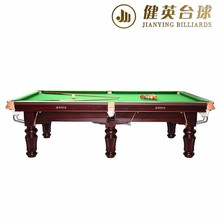 2017 Top Quality Popular design 3 cushion billiard table for sale