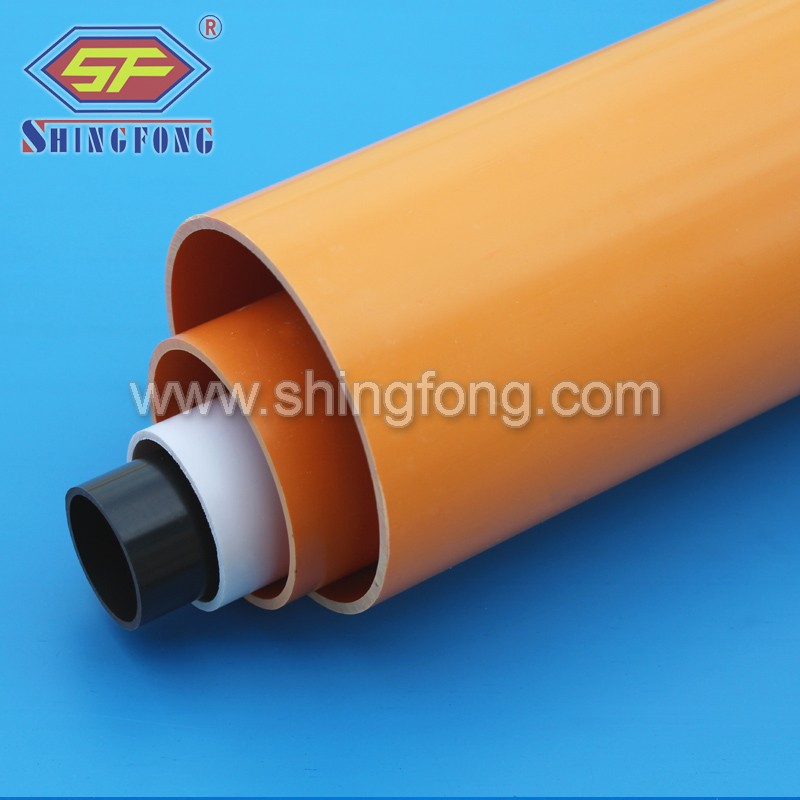 pvc cable network and electrical wire trunking conduits