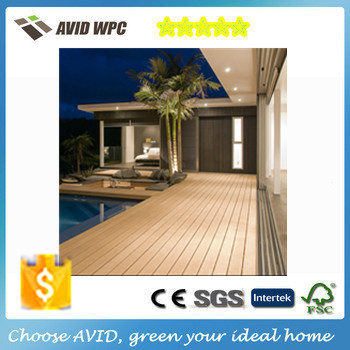 Modern home plans Wholesales eco-friendly wpc flooring, outdoor veneer decking, composite decking china