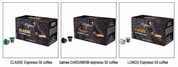 Hot Sell capsule coffee