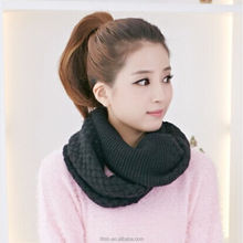 Factory Wholesale Winter Infinity Knit Scarf fashional scarves for women