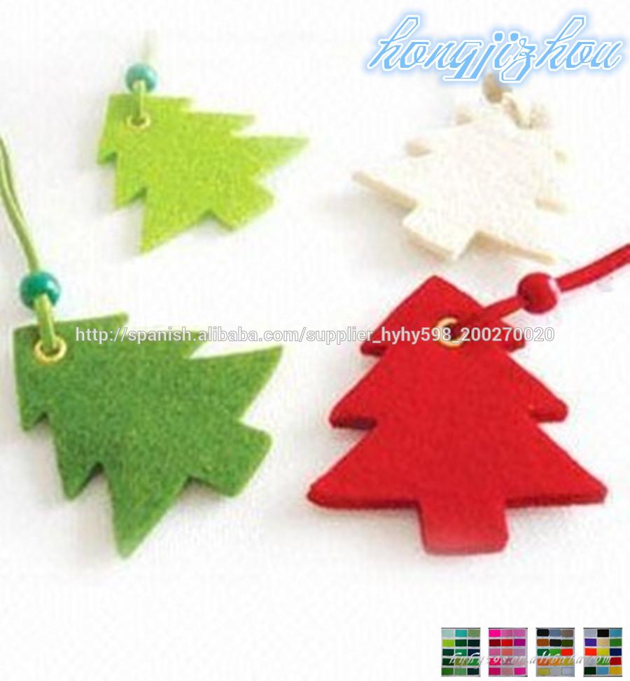 Fieltro 2014 del rbol de navidad decoraciones suministros - Decoraciones del arbol de navidad ...