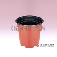 ChengXing brand double color pp disposable plastic flower garden pots