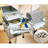 boiled quail egg peeling machine Quail egg breaker sheller machine