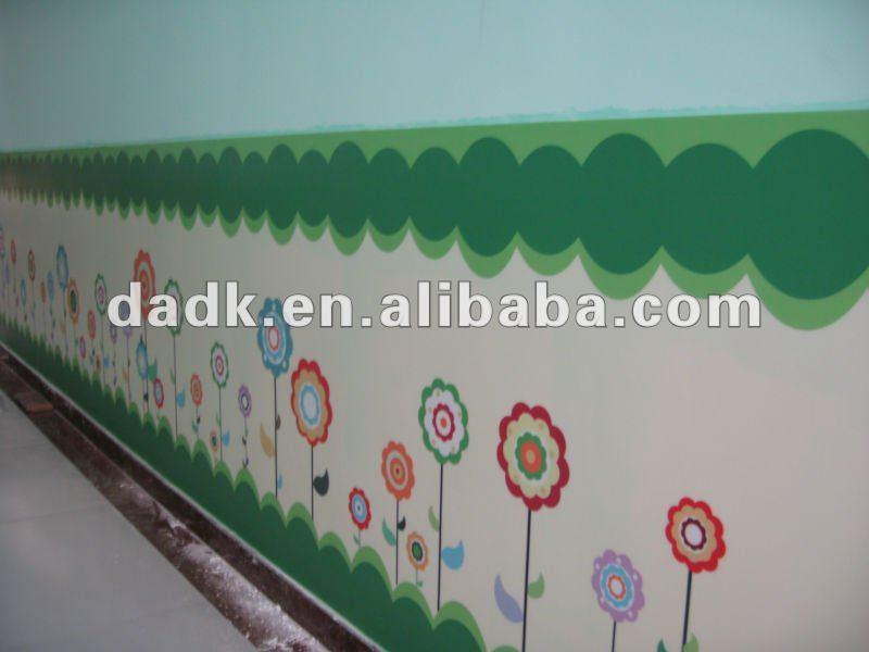 decorar sala de kinder:Kinder pvc de pared sticker-Barandillas y Pasamanos-Identificación