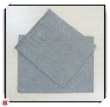 heat insulation 100%316L SS nonwoven needle punched felt