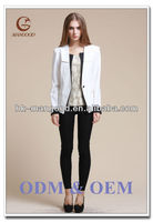 Good quality new winter white pant suit