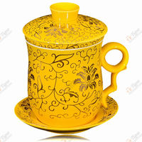 TG-405M232-Y-2 tea cup pot in one 1206 made in China wide mouth stainless steel wat...