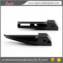 Motorcycle CNC Black aluminum foot peg for Honda CBR250R