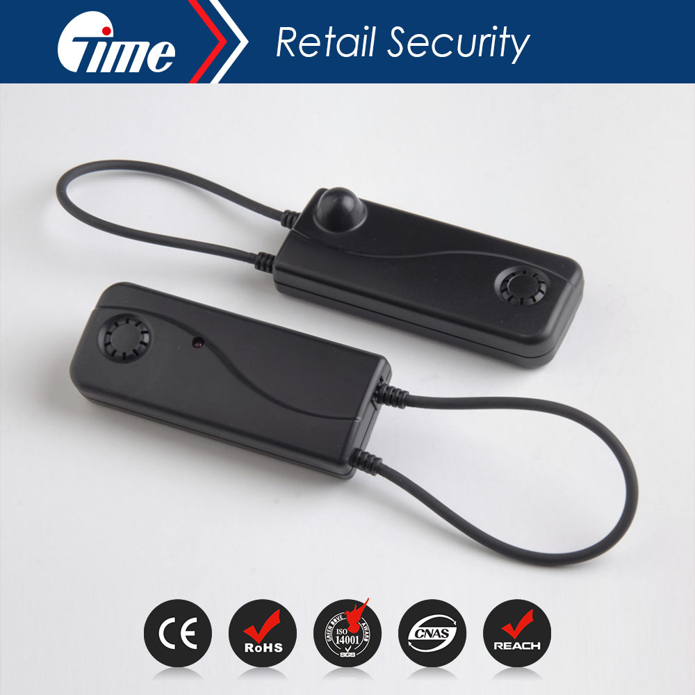 ONTIME AS1011 EAS Self Alarming cable lock for clothing store