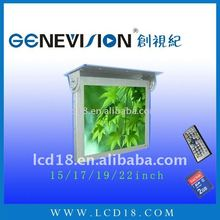 "19"" oem lcd ad monitor using in car/bus/taxi subway"