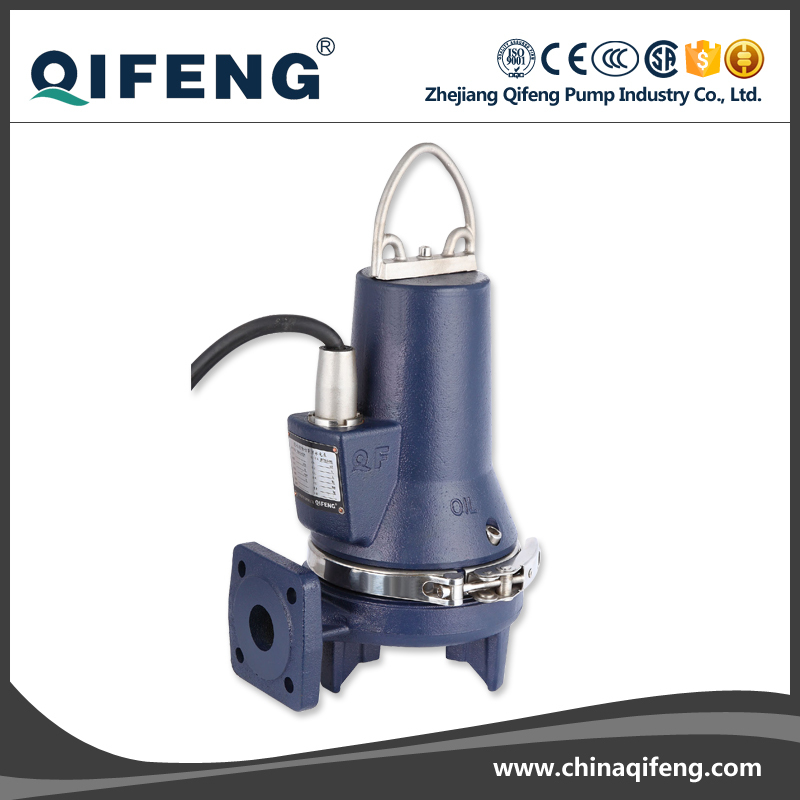 NON-CLOG grinder submersible waster water pump with control box
