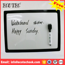 Magnetic write board transparent loverly plastic write board