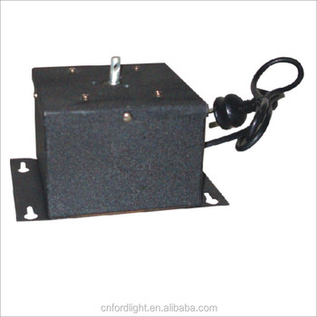Square fl 202 0 8 heavy duty electric mirror ball motor for Disco ball motor heavy duty