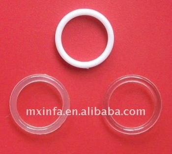 clear plastic ring and adjusters buy small plastic ring