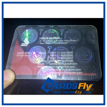 Holographic Feature and Adhesive Sticker Type ID Card Overlay Hologram