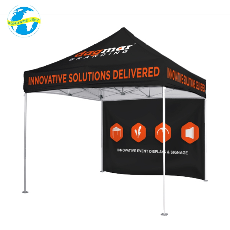 China Foldable Canopy 10x10 Custom Inside Print Imprint Advertise Tent