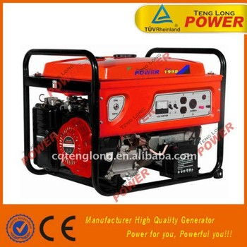 hot sale 2500w portable AVR gasoline fuel generator