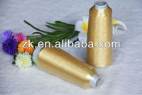 pure gold ST type METALLIC YARN FOR EMBROIDERY