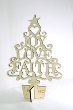 nature plywood laser cut xmas tree decorations christmas wooden decorations