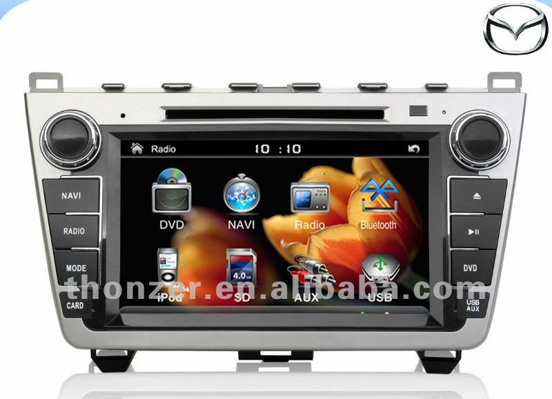 Car DVD Player for New Mazda 6 with Canbus (2010--2011)