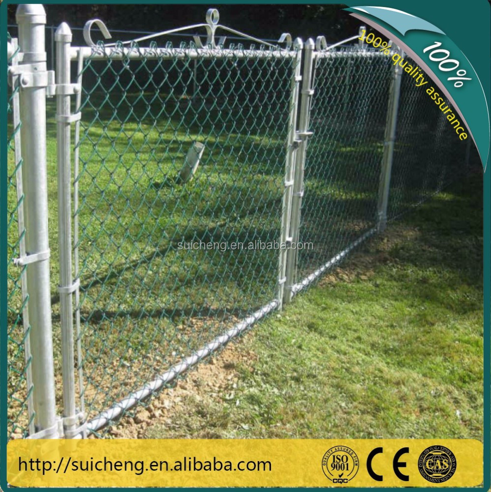Guangzhou factory fence chain link/fence and gate/fence iron for sale