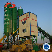 China HZS90 wet precast concrete mixing plant for sale