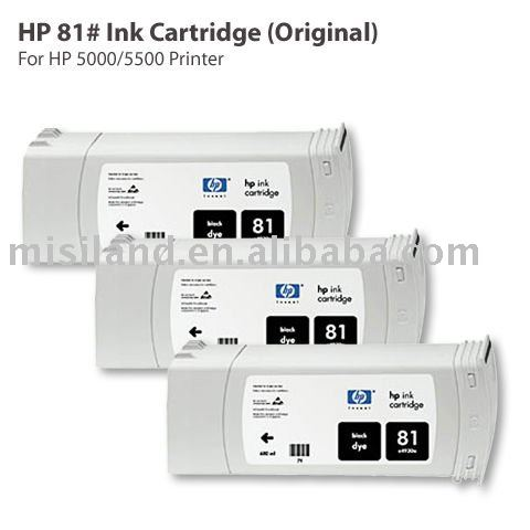 HP 81# Original Ink Cartridge For HP 5000 5500 Printer (All Kinds Genuine HP Cartridge)