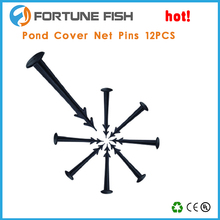 pond cover net pins plastic mesh pins anti bird protect fish plant fruit seeds outdoor cover