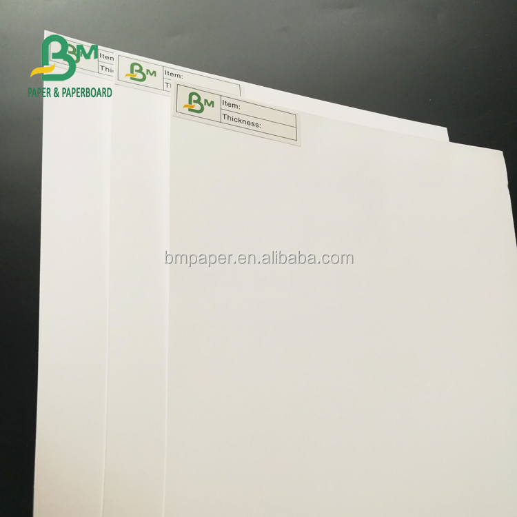 250gsm 300gsm 400gsm Gloss Two Side Coated C2S Art Card Paper Board