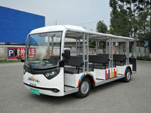 23 seater electric sightseeing bus 96v, 13.5kw AC system