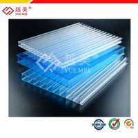 2015 High quality ten years warranty transparent polycarbonate prices