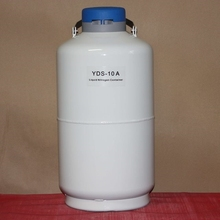cryogenic semen storage container 10L dewar flask for liquid nitrogen