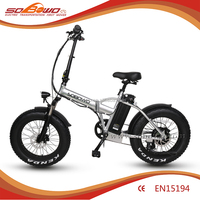 men style 20 inch mini pocket fat tire electric pedal bike