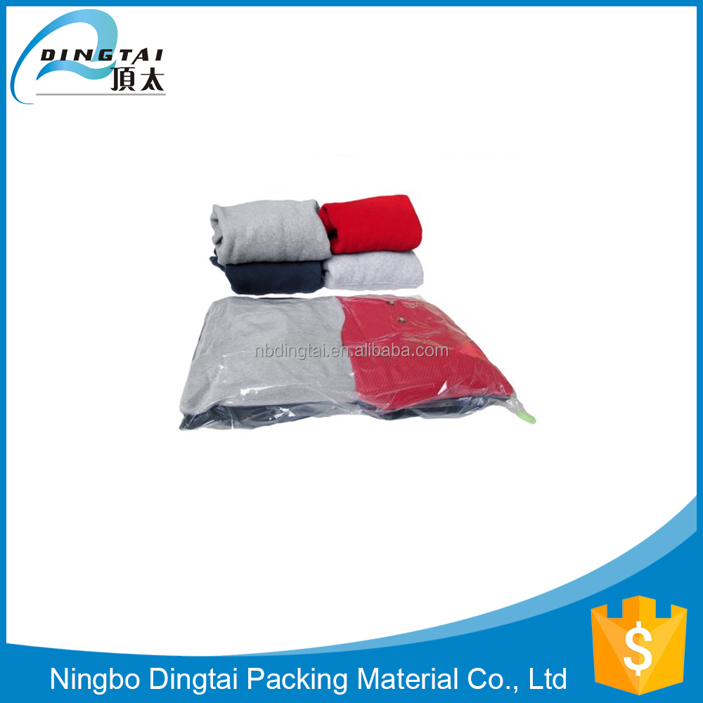 Factory Wholesale Clothes Bedding Organiser Vacuum Compressed Bags